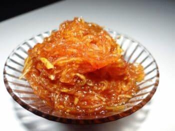 Instant Mango Murabba (Kachi Keri No Chundo) - Plattershare - Recipes, Food Stories And Food Enthusiasts