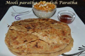Mooli Paratha / Radish Paratha - Plattershare - Recipes, Food Stories And Food Enthusiasts