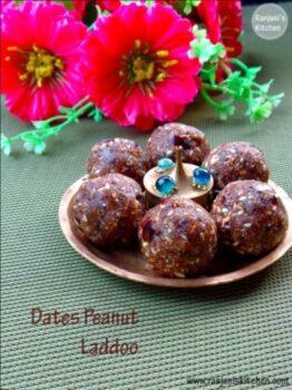 Dates Peanut Laddu - Plattershare - Recipes, Food Stories And Food Enthusiasts