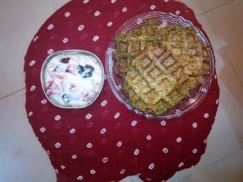 Nutri-Waffles With Fruity Yogurt - Plattershare - Recipes, Food Stories And Food Enthusiasts