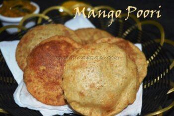 Mango Poori - Plattershare - Recipes, Food Stories And Food Enthusiasts
