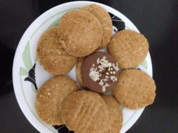 Oats Almond Cookies - Absolutely Guiltfree - Plattershare - Recipes, Food Stories And Food Enthusiasts