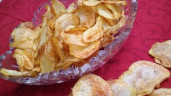 Air Fried Homemade Potato Chips - Plattershare - Recipes, Food Stories And Food Enthusiasts