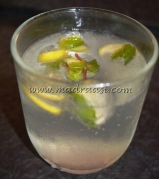Sparkling Limeade - Plattershare - Recipes, Food Stories And Food Enthusiasts