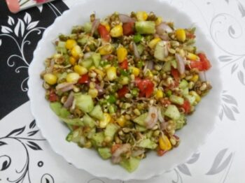 Sprout-Corn Salad - Plattershare - Recipes, Food Stories And Food Enthusiasts