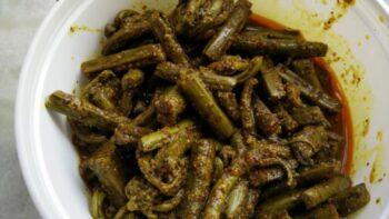 Kasrod (Fiddlehead Fern) Pickle - Plattershare - Recipes, Food Stories And Food Enthusiasts