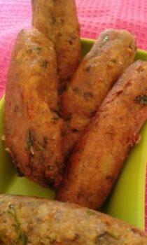 Suran / Yam Cigar - Plattershare - Recipes, Food Stories And Food Enthusiasts