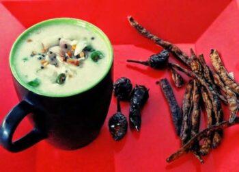 Pearl Millet Porridge (Kamban Koozh) - Plattershare - Recipes, Food Stories And Food Enthusiasts