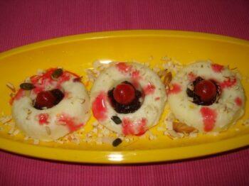 Pichkari Paneer Kulfi Wada - Plattershare - Recipes, Food Stories And Food Enthusiasts