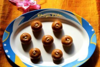 Khoya Peda - Plattershare - Recipes, Food Stories And Food Enthusiasts