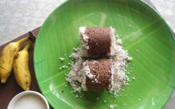 Ragi Flour Puttu | Finger Millet Steamed Cake - Plattershare - Recipes, Food Stories And Food Enthusiasts