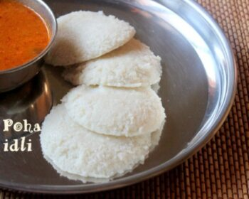 Poha Idli - Plattershare - Recipes, Food Stories And Food Enthusiasts