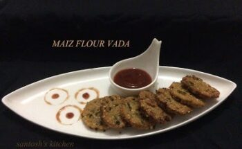 Maize Flour Crispy Vada - Plattershare - Recipes, Food Stories And Food Enthusiasts
