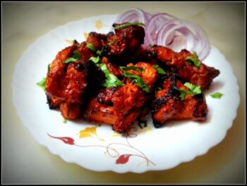Chicken Tikka Kebab - Plattershare - Recipes, Food Stories And Food Enthusiasts
