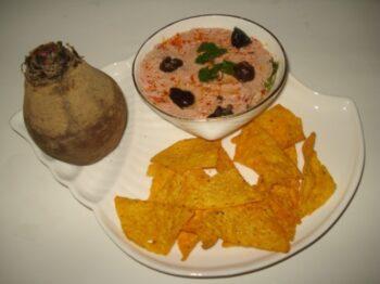 Beetroot Hummus - Plattershare - Recipes, Food Stories And Food Enthusiasts