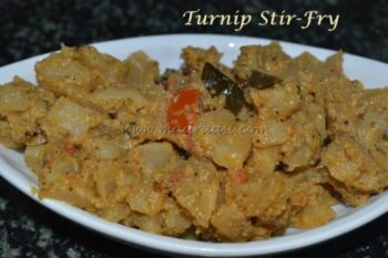 Turnip Stir-Fry - Plattershare - Recipes, Food Stories And Food Enthusiasts