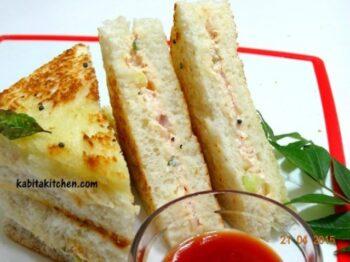 Raita Sandwich - Plattershare - Recipes, Food Stories And Food Enthusiasts