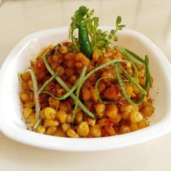 Masaledar Maize (Corn) - Plattershare - Recipes, Food Stories And Food Enthusiasts