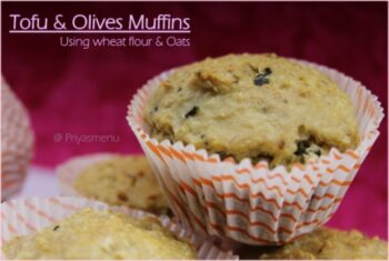 Tofu &Amp; Olives Savory Muffins - Plattershare - Recipes, Food Stories And Food Enthusiasts