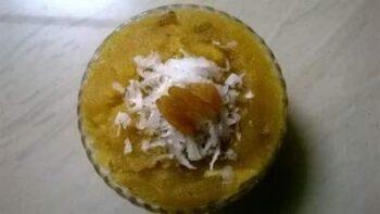 Suji-Besan Halwa / Samolina-Gram Flour Dessert - Plattershare - Recipes, Food Stories And Food Enthusiasts