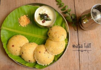 Instant Oats Idli - Plattershare - Recipes, Food Stories And Food Enthusiasts