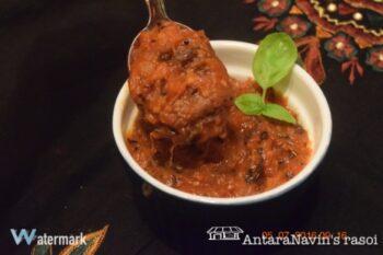 Tomato Khejur Chutney ( Tomatoes Dates Chutney) - Plattershare - Recipes, Food Stories And Food Enthusiasts