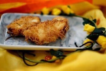 Paneer Nest Gujiya - Plattershare - Recipes, Food Stories And Food Enthusiasts