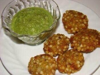 Sabudana Vada - Plattershare - Recipes, Food Stories And Food Enthusiasts