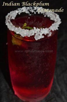 Naaval Palam Juice / Indian Blackplum Lemonade - Plattershare - Recipes, Food Stories And Food Enthusiasts