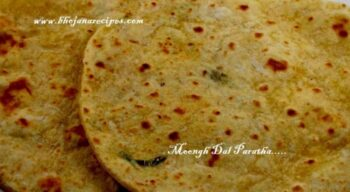 Moongh Dal Parathas - Plattershare - Recipes, Food Stories And Food Enthusiasts