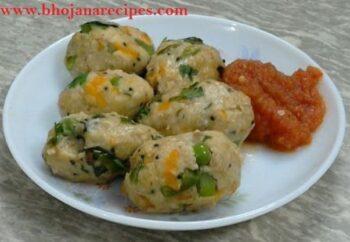 Oats Veg Steamed Balls (Oats Veg Kozhukattai) - Plattershare - Recipes, Food Stories And Food Enthusiasts