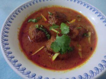 Banana Flower Kofta Curry - Plattershare - Recipes, Food Stories And Food Enthusiasts