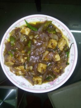 Paneer Chilly - Plattershare - Recipes, Food Stories And Food Enthusiasts
