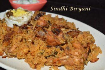Sindhi Biryani - Plattershare - Recipes, Food Stories And Food Enthusiasts
