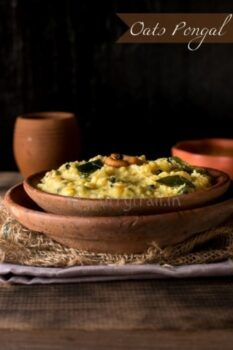 Oats Vegetable Pongal - Plattershare - Recipes, Food Stories And Food Enthusiasts