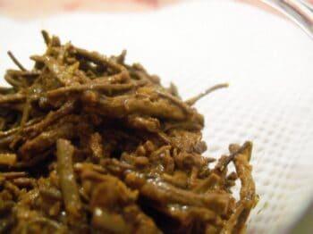 Rajasthani Sangri Ki Sabzi - Plattershare - Recipes, Food Stories And Food Enthusiasts