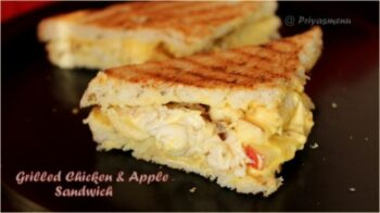 Grilled Chicken &Amp; Apple Sandwich - Plattershare - Recipes, Food Stories And Food Enthusiasts