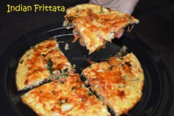 Indian Frittata - Plattershare - Recipes, Food Stories And Food Enthusiasts