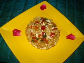 Paneer-Gond Pie - Plattershare - Recipes, Food Stories And Food Enthusiasts