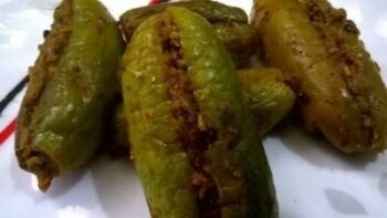 Stuffed Ivy Gourd/Kundru [Zero Oil] - Plattershare - Recipes, Food Stories And Food Enthusiasts