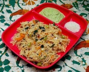 Vermicelli Veg Upma (Semiya Upma) - Plattershare - Recipes, Food Stories And Food Enthusiasts