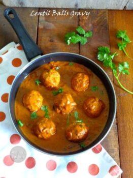 Paruppu Urundai Kuzhambhu - Plattershare - Recipes, Food Stories And Food Enthusiasts