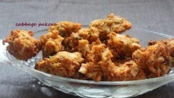 Cabbage Pakora - Plattershare - Recipes, Food Stories And Food Enthusiasts