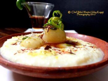 Green Chilli And Honey Angoori Rabri - Plattershare - Recipes, Food Stories And Food Enthusiasts