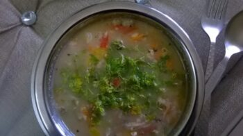 Soupy Oats [Zero Oil] - Plattershare - Recipes, Food Stories And Food Enthusiasts