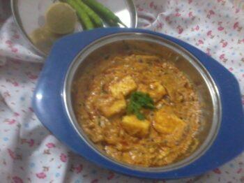 Paneer Kaju Gravy - Plattershare - Recipes, Food Stories And Food Enthusiasts