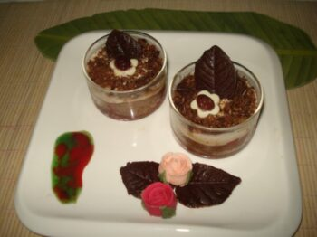 No Bake Healthy Paneer -Choco Pudding - Plattershare - Recipes, Food Stories And Food Enthusiasts