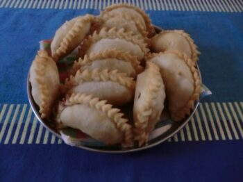 Mava Gujhia - Plattershare - Recipes, Food Stories And Food Enthusiasts