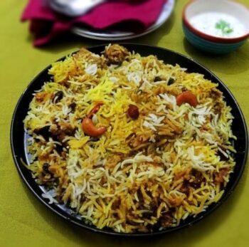 Hyderabadi-Style Chicken Biryani Recipe - Plattershare - Recipes, Food Stories And Food Enthusiasts