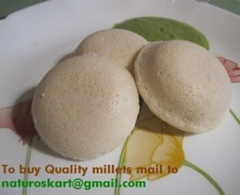 Healthy Millets Idli - Plattershare - Recipes, Food Stories And Food Enthusiasts